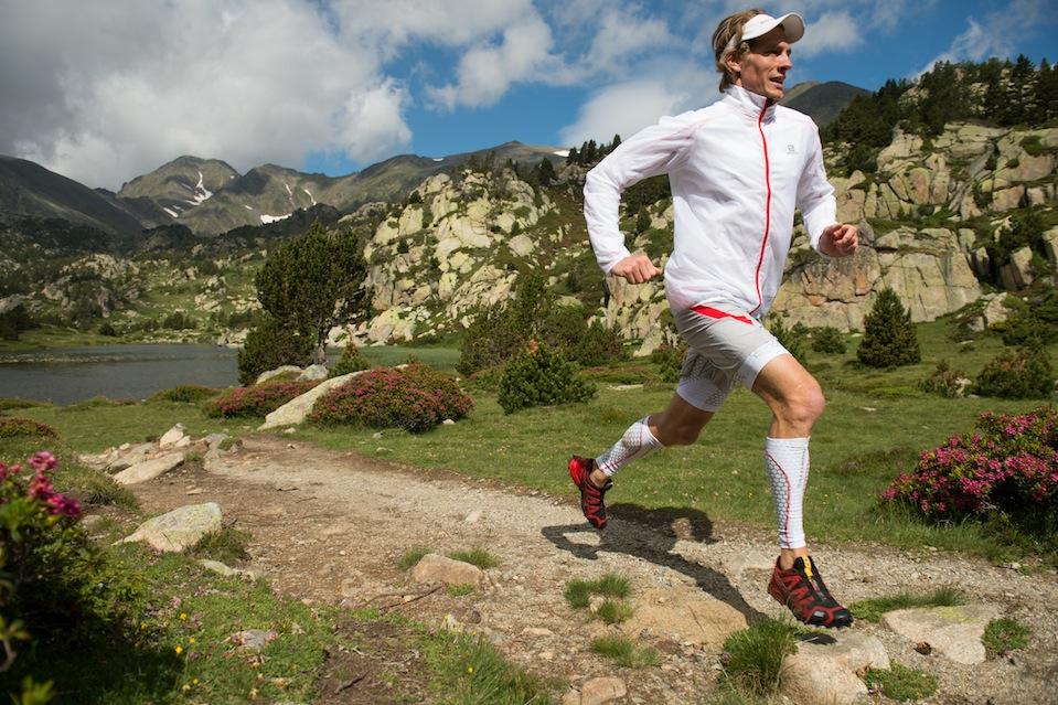 Комфортный бег в кроссовках Саломон