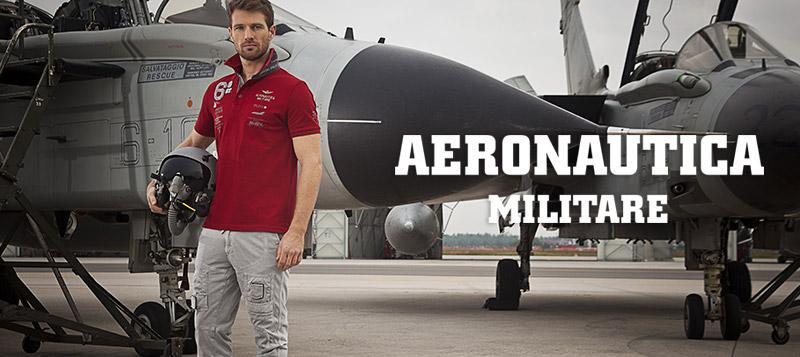 Мужчина в одежде Aeronautica Militare