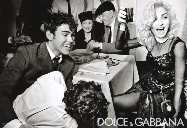 Мадонна и Дольче Габбана