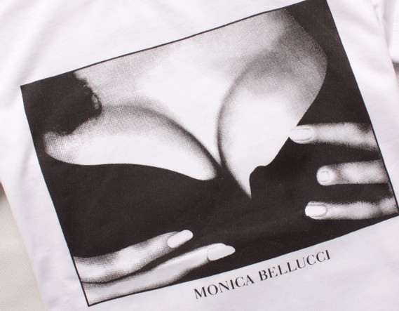 купить футболку Дольче Габбана Моника Белуччи бюст