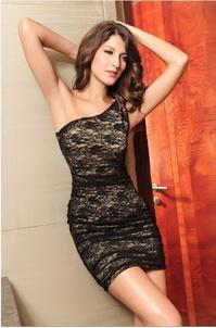 платье W