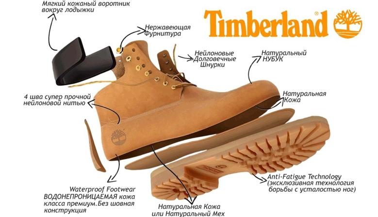 Купить ботинки Timberland